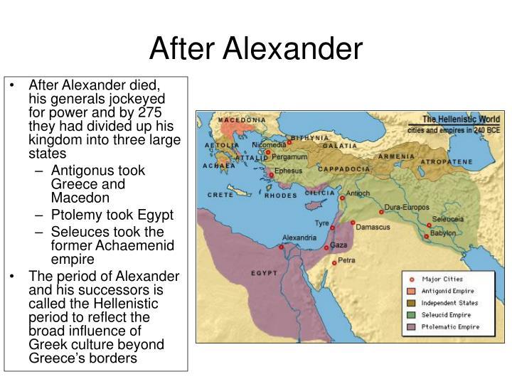 After Alexander