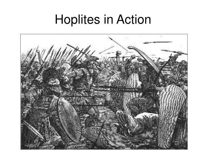 Hoplites in Action