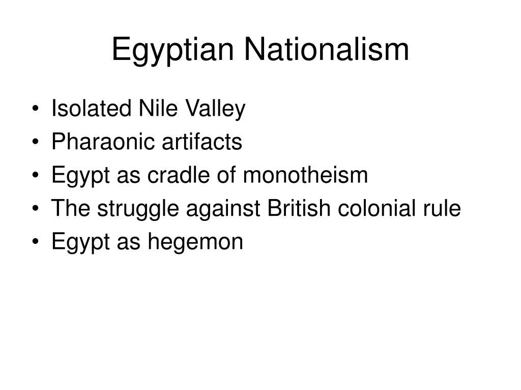 Egyptian Nationalism