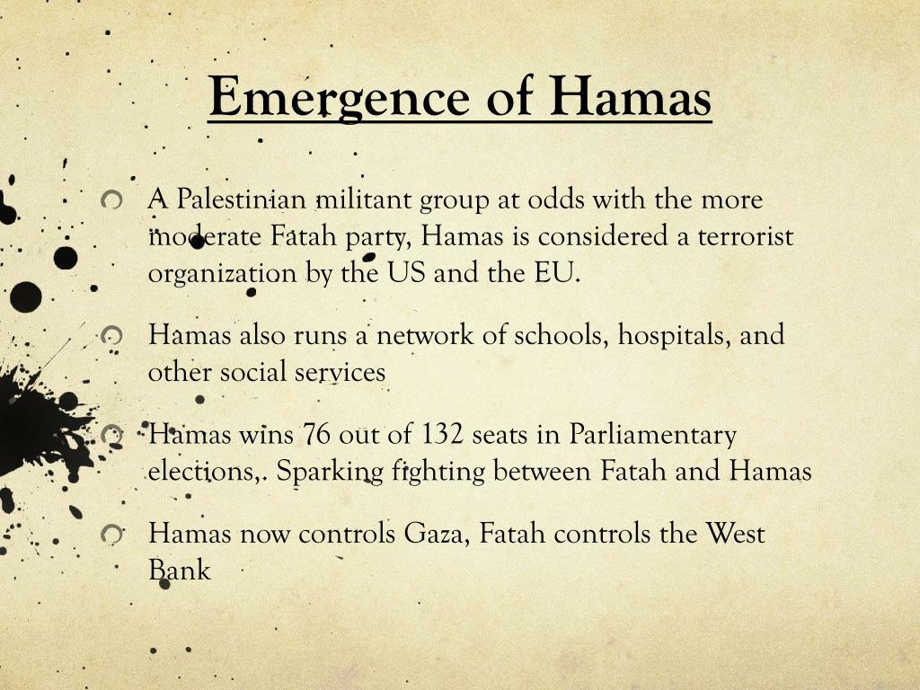 Emergence of Hamas