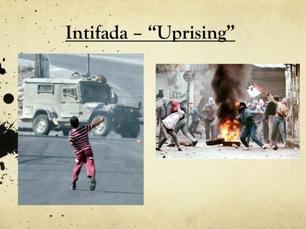 "Intifada – ""Uprising"""