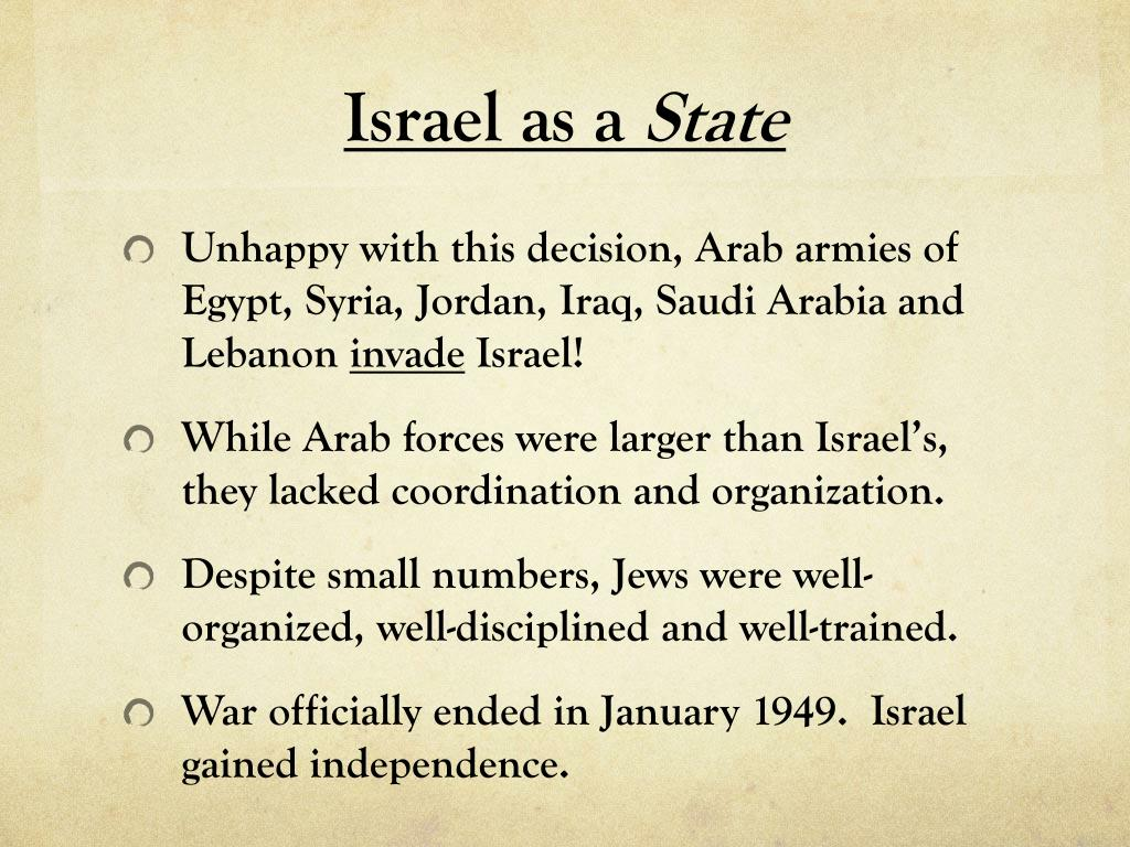 Israel as a