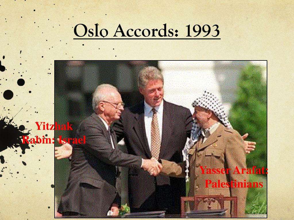 Oslo Accords: 1993
