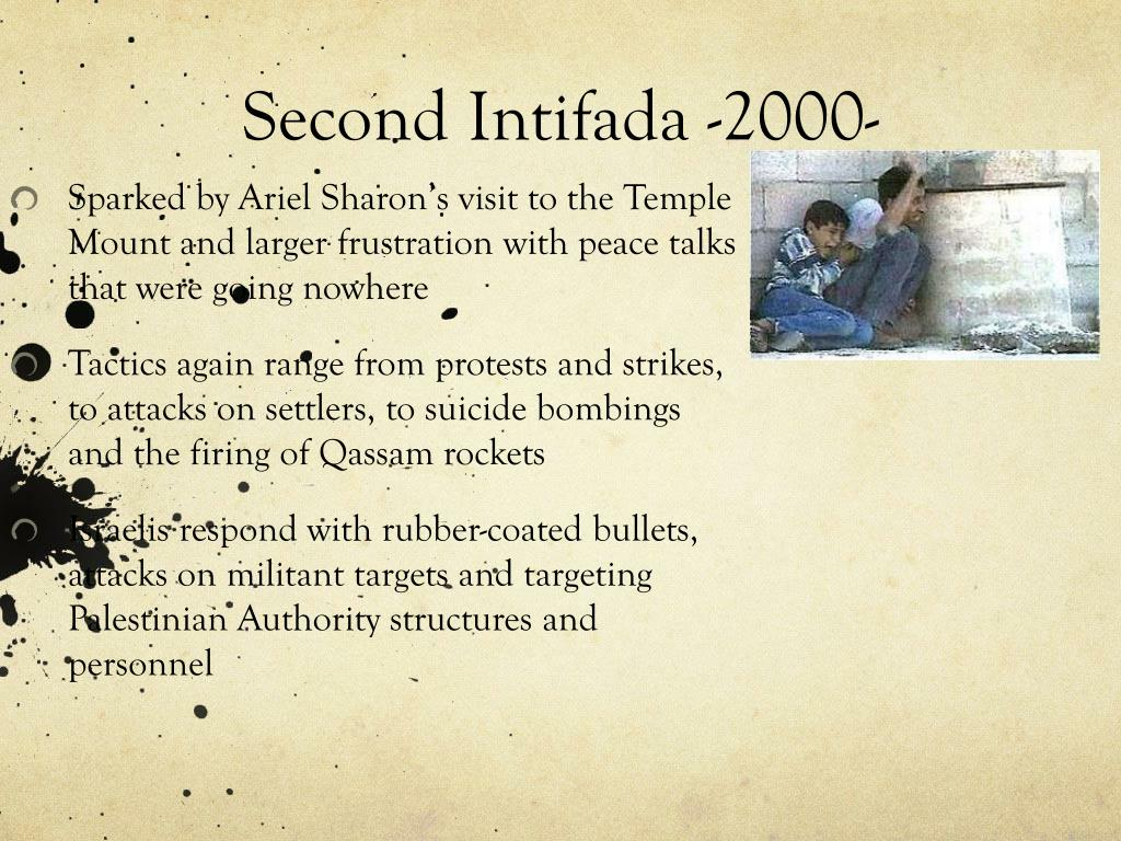 Second Intifada -2000-