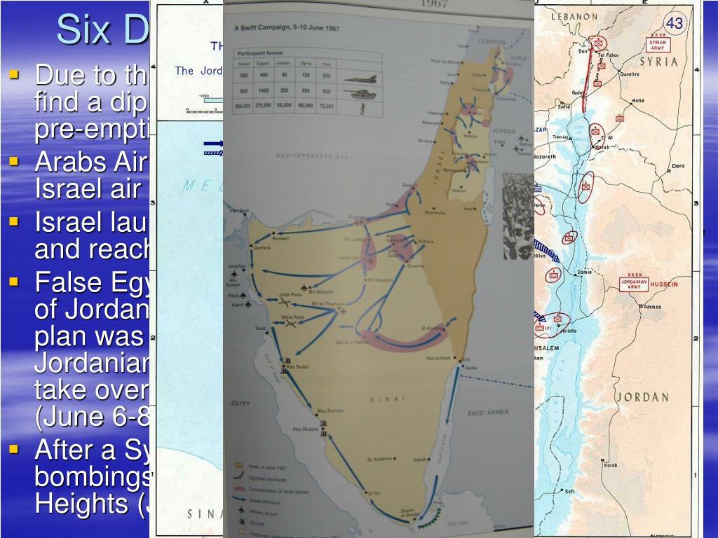 Six Days of War - June 5-10 1967