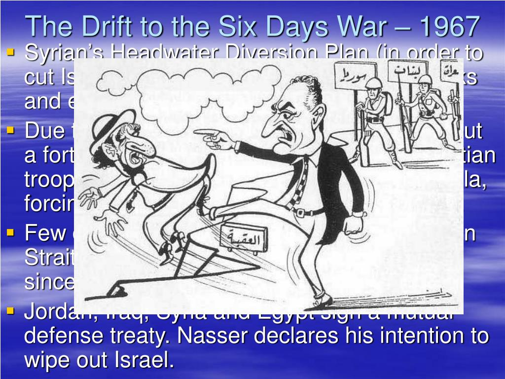 The Drift to the Six Days War – 1967