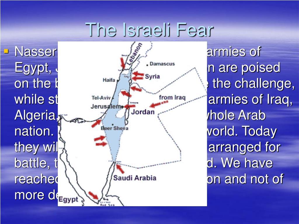 The Israeli Fear