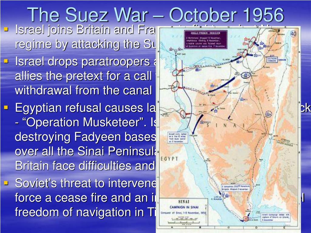 The Suez War – October 1956