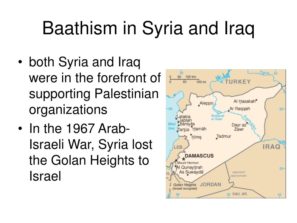 Baathism in Syria and Iraq