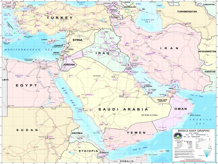 Background middle east