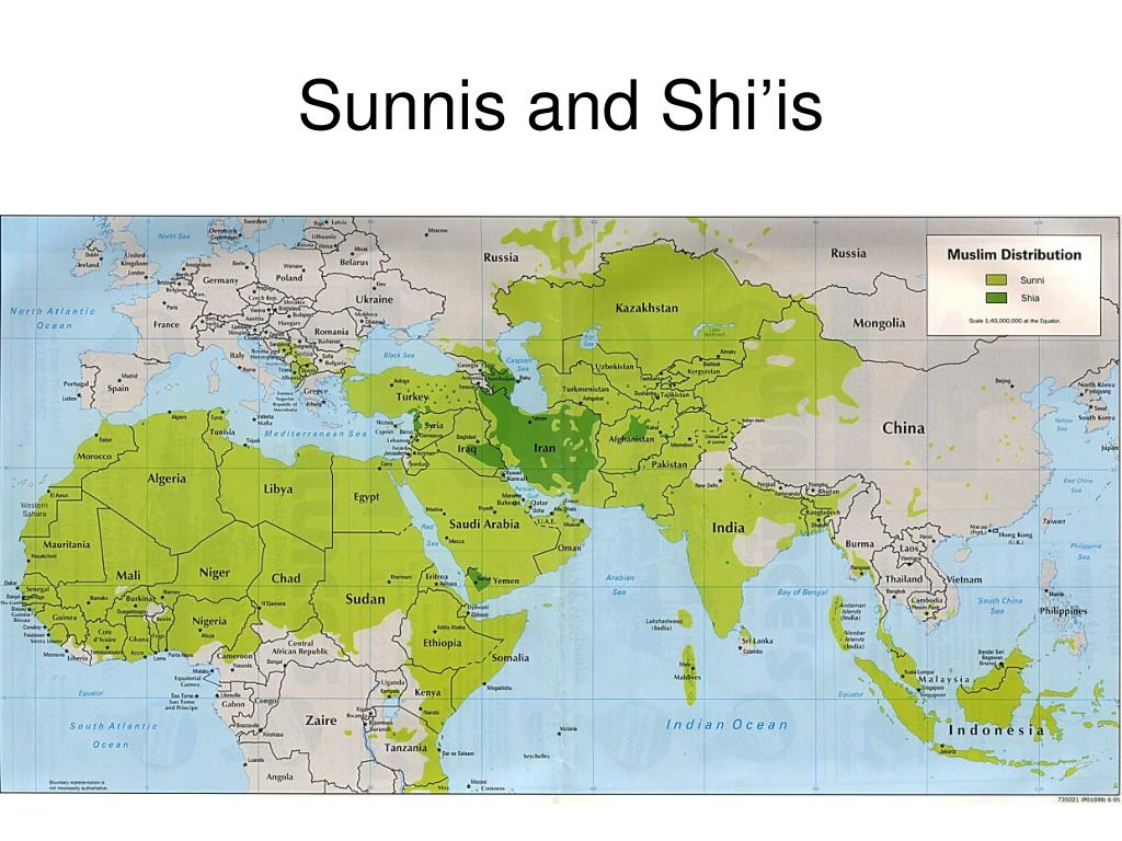 Sunnis and Shi'is