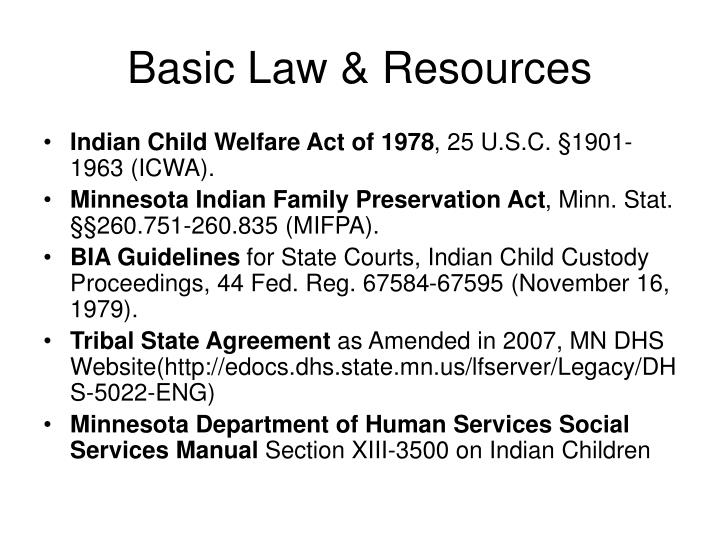 Basic Law & Resources