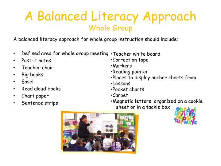 whole group instruction strategies