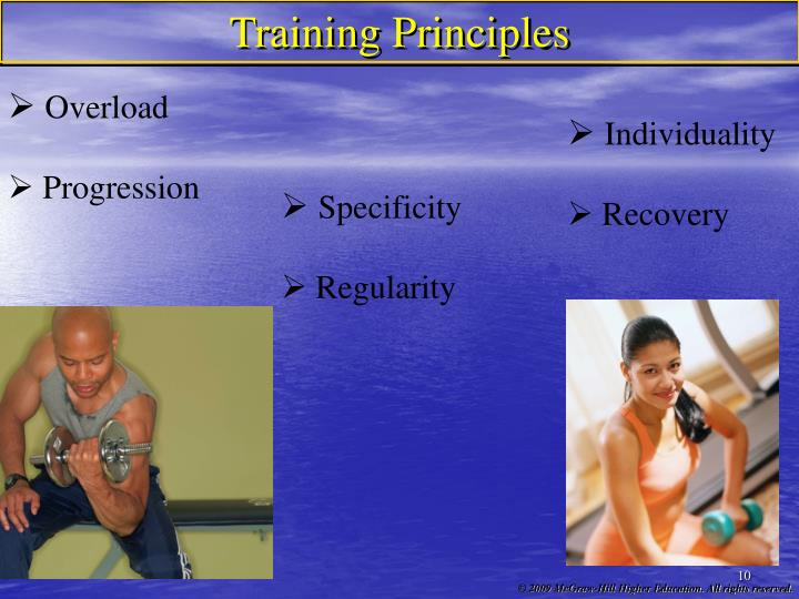 Training Principles