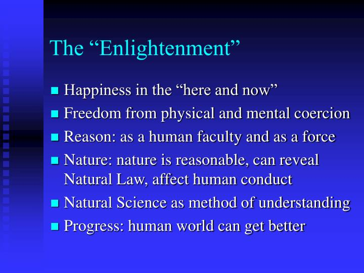 "The ""Enlightenment"""