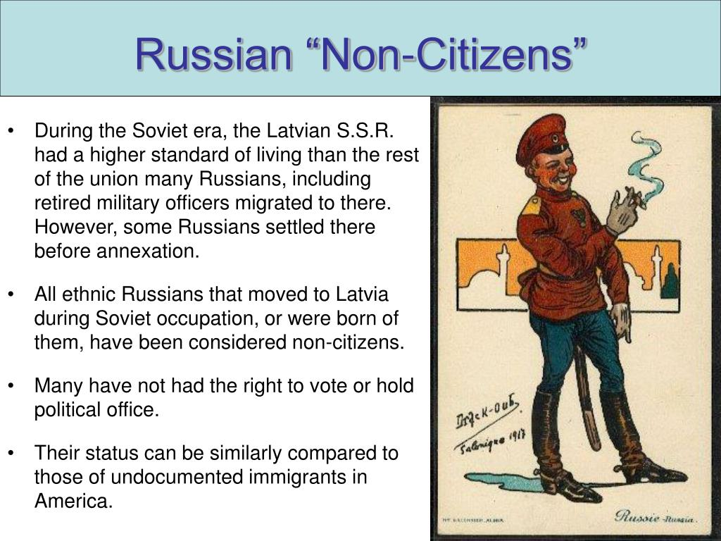 "Russian ""Non-Citizens"""