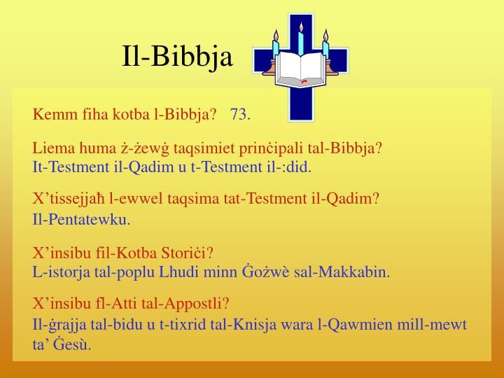 Il-Bibbja