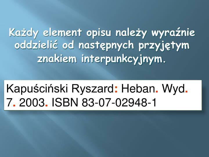 Kapuściński Ryszard