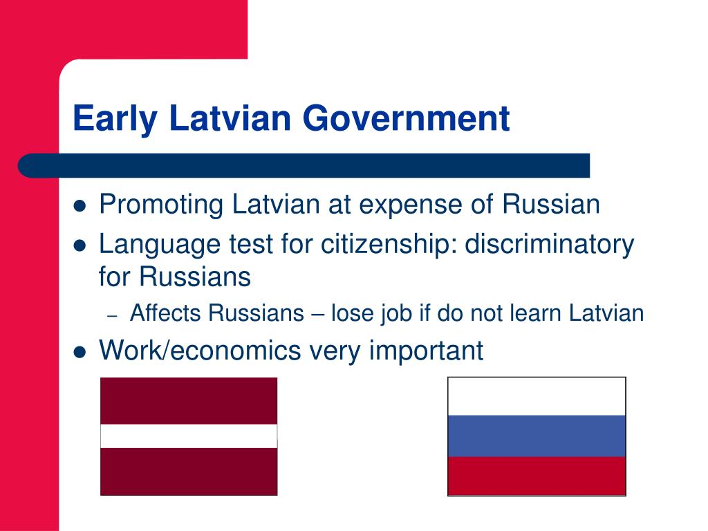 Early Latvian Government