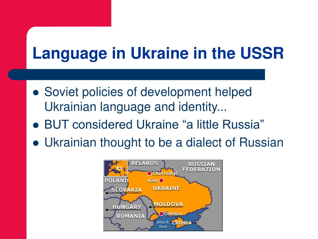 Language in Ukraine in the USSR