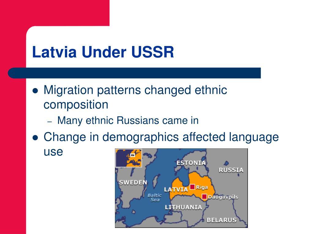 Latvia Under USSR