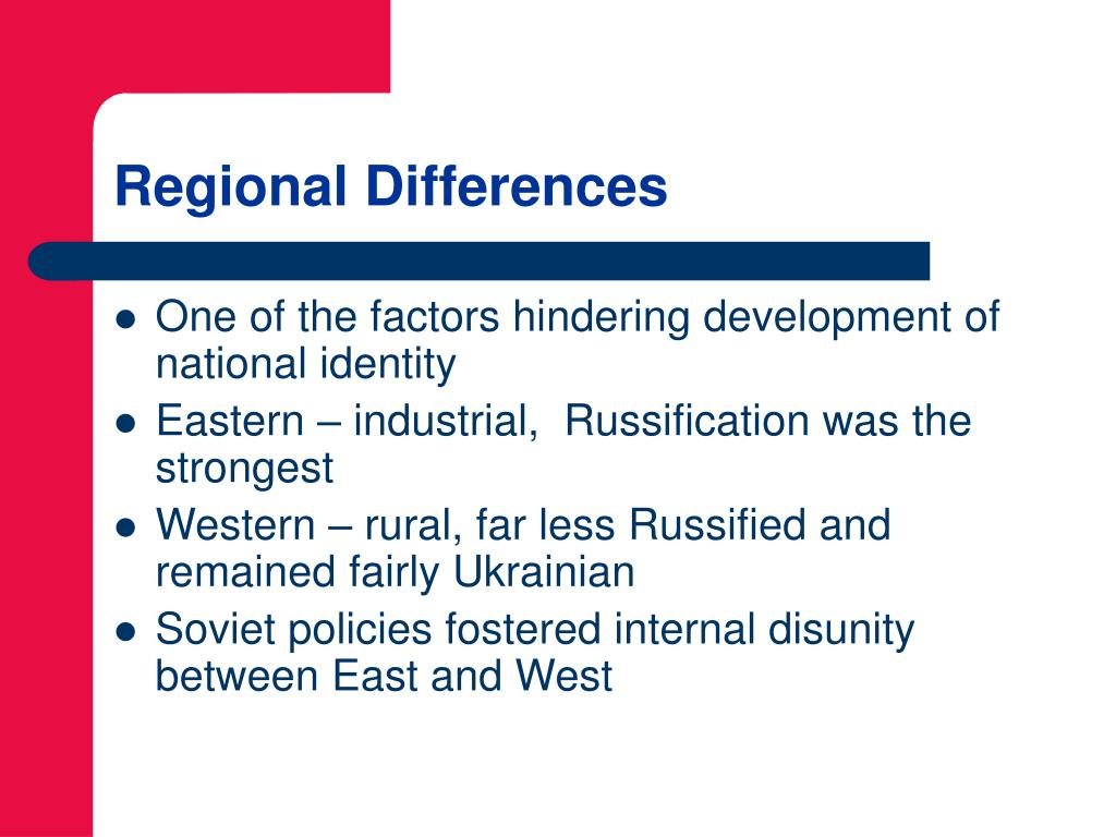 Regional Differences
