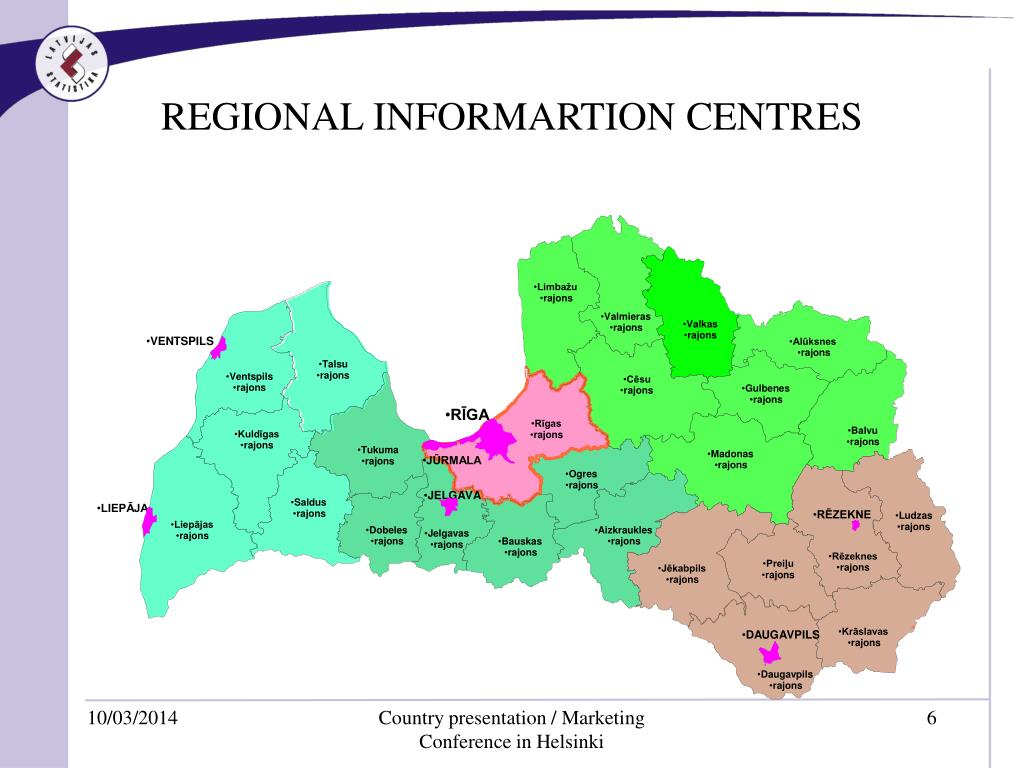 REGIONAL INFORMARTION CENTRES