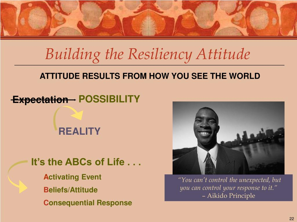 Building the Resiliency Attitude
