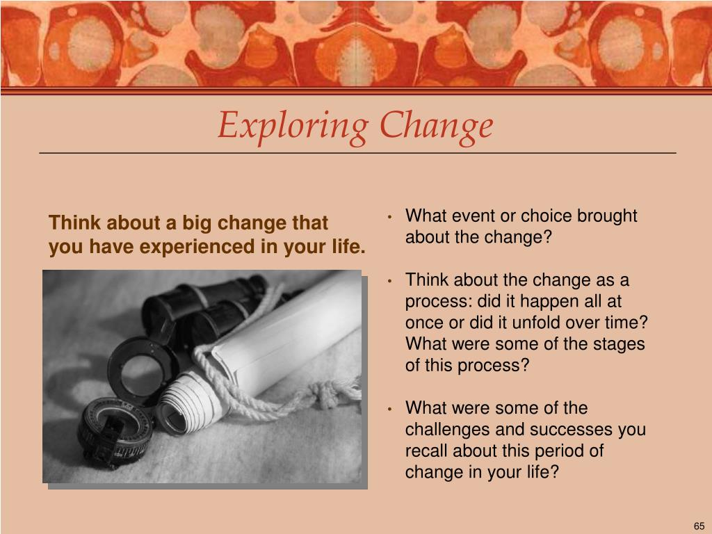 Exploring Change