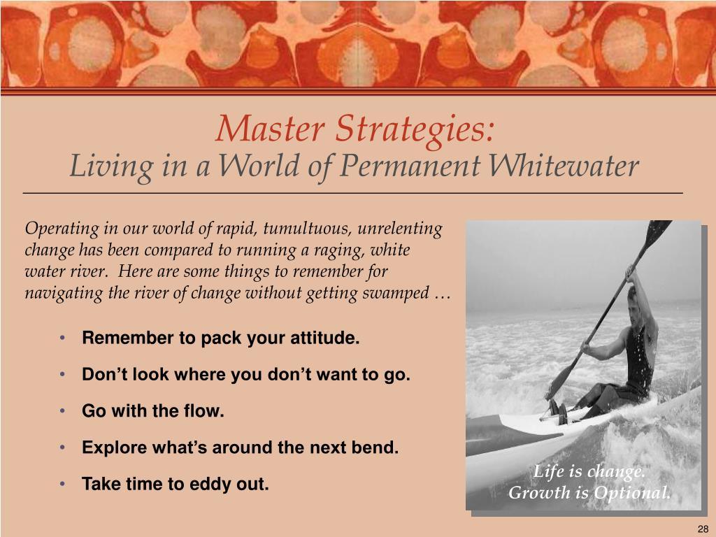 Master Strategies: