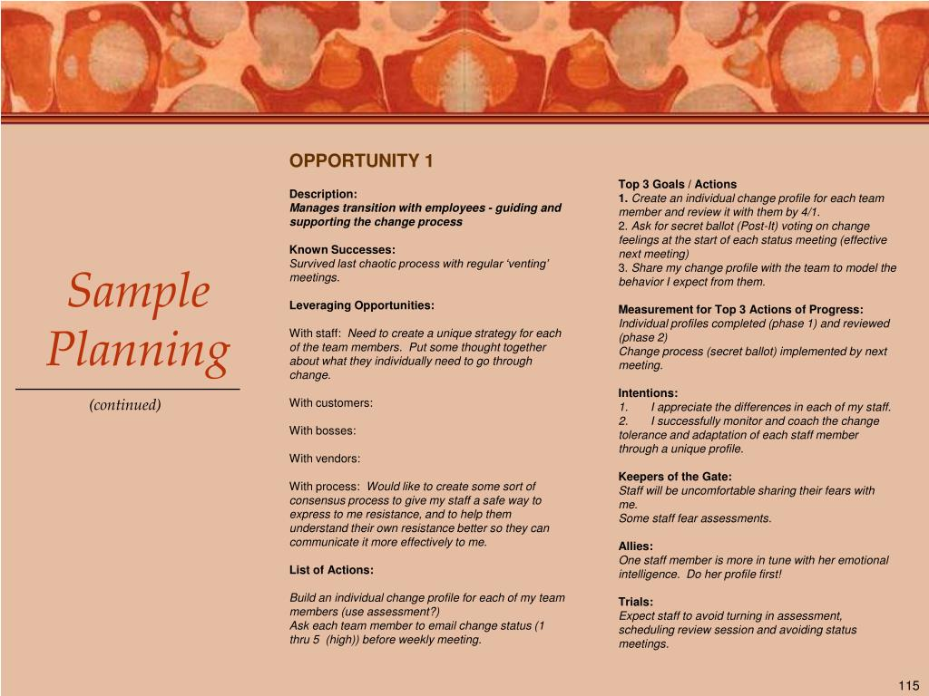 OPPORTUNITY 1