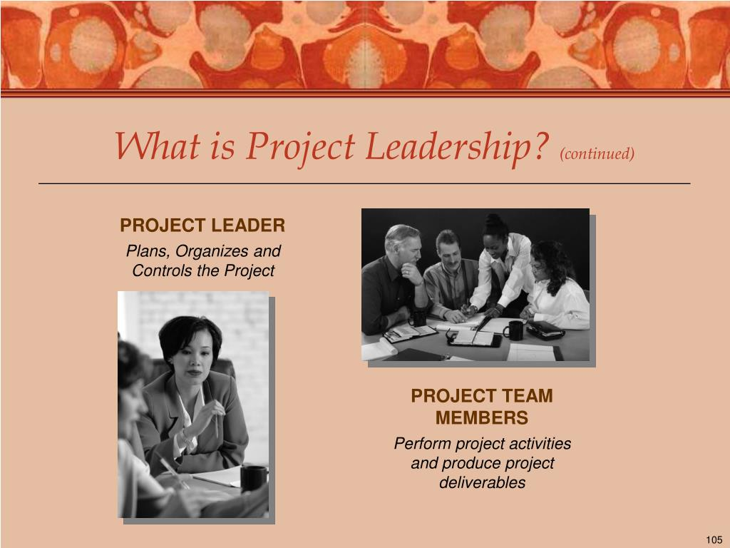 What is Project Leadership?