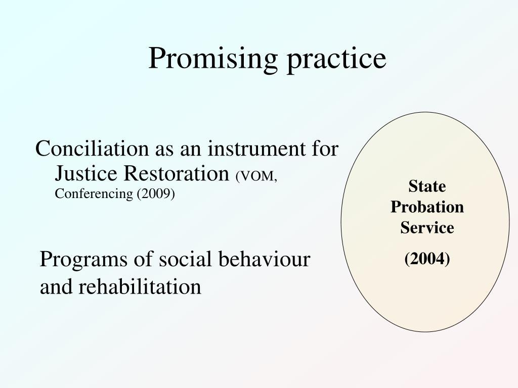 Promising practice
