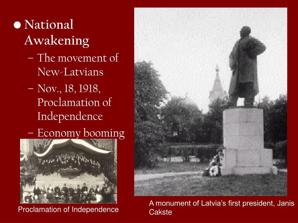 National Awakening