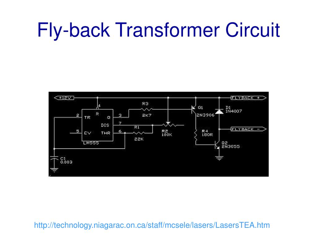 Fly-back Transformer Circuit