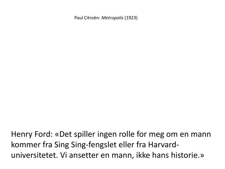 Paul Citroën: