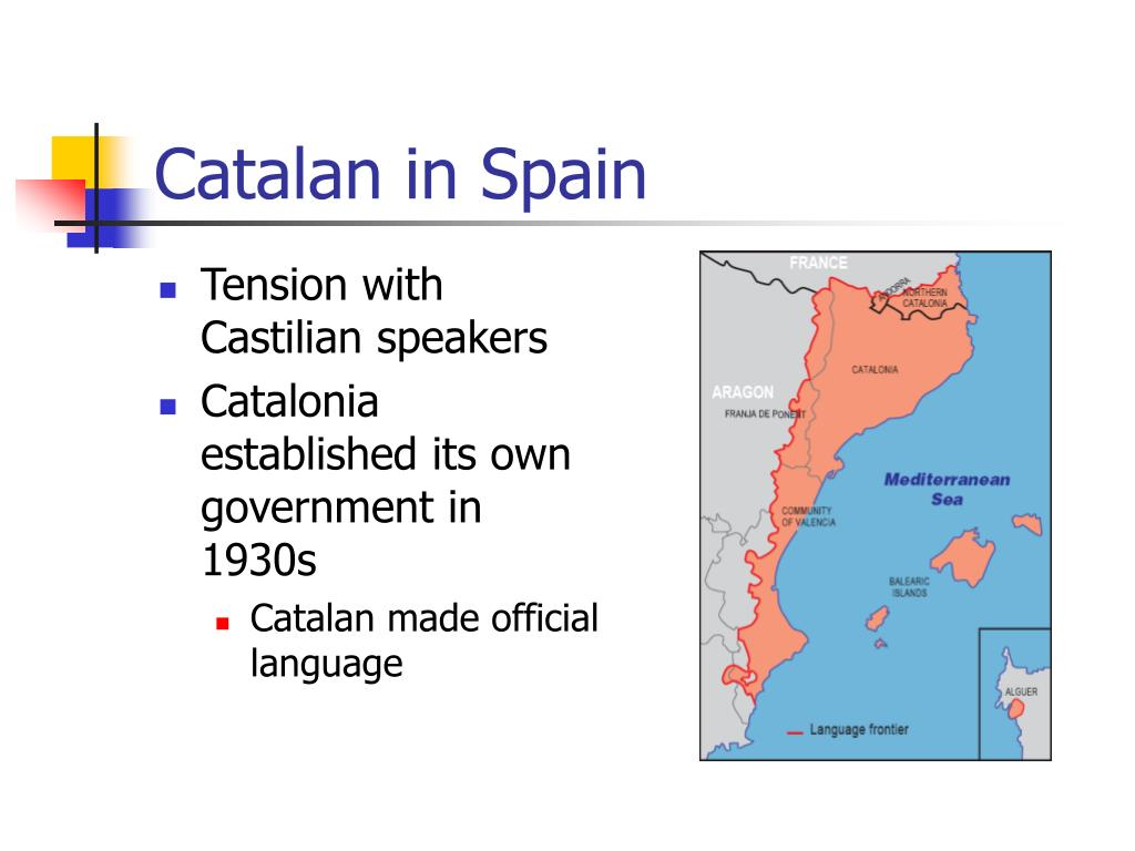 Catalan in Spain