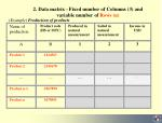 2 data matrix fixed number of columns 3 and variable number of rows n