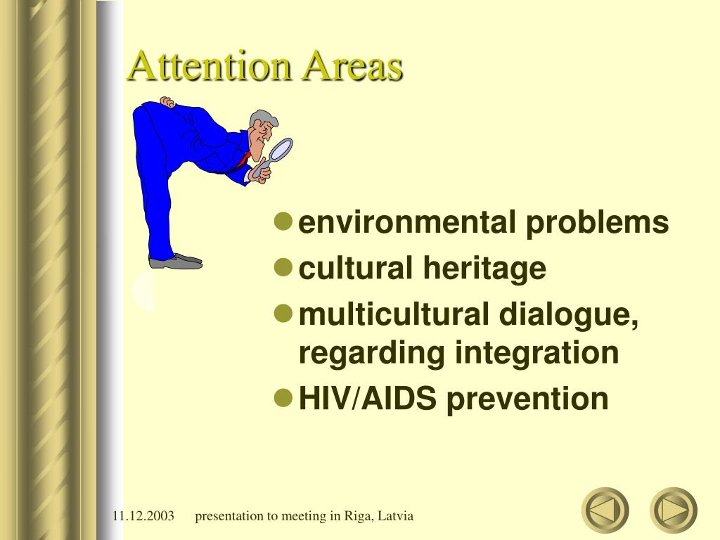 Attention Areas