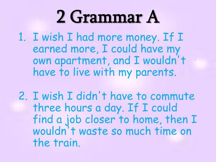 2 Grammar A