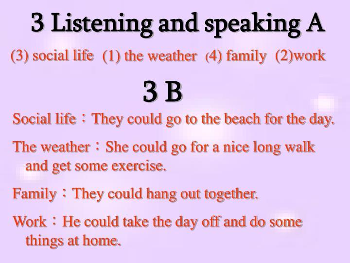 3 Listening