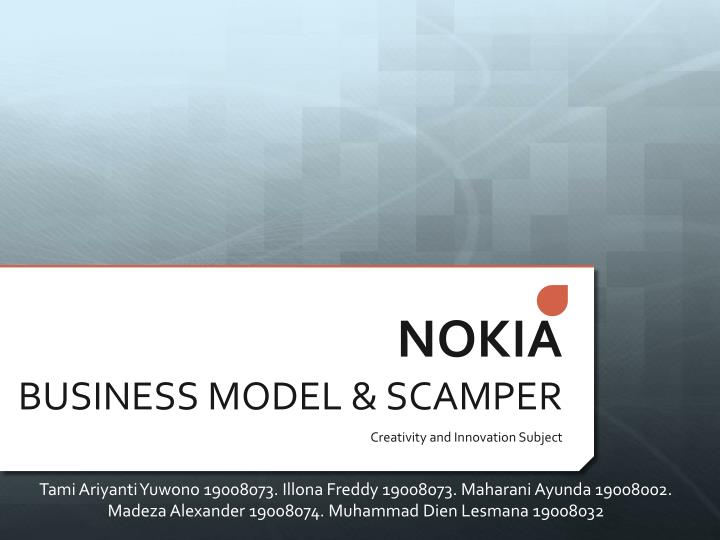 nokia business model Business strategy news articles for ceos, corporate executives, and decision makers who influence international business management corporate strategy, competition.