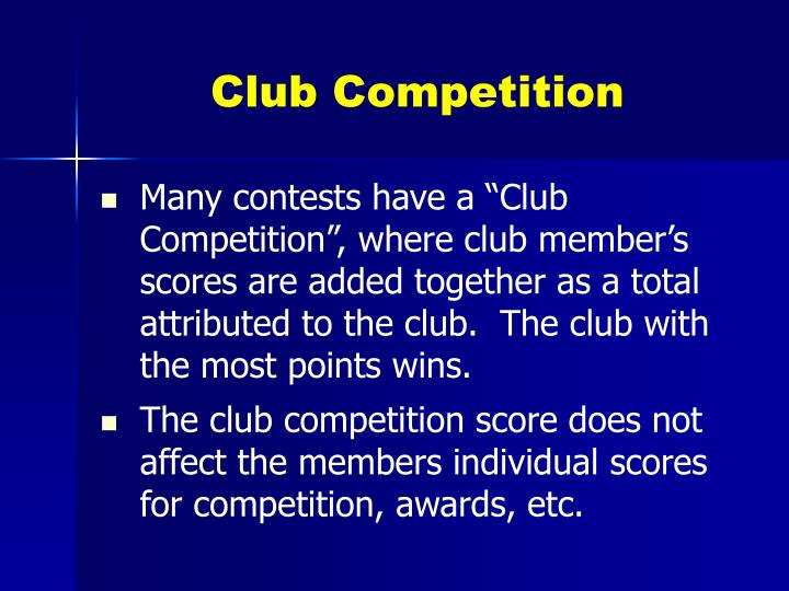 Club Competition