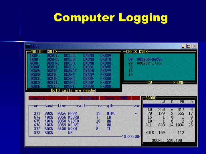 Computer Logging