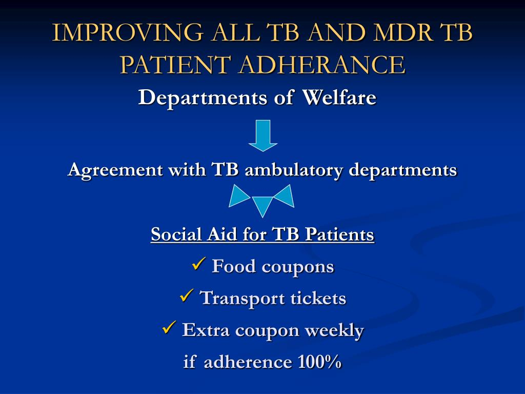 IMPROVING ALL TB AND MDR
