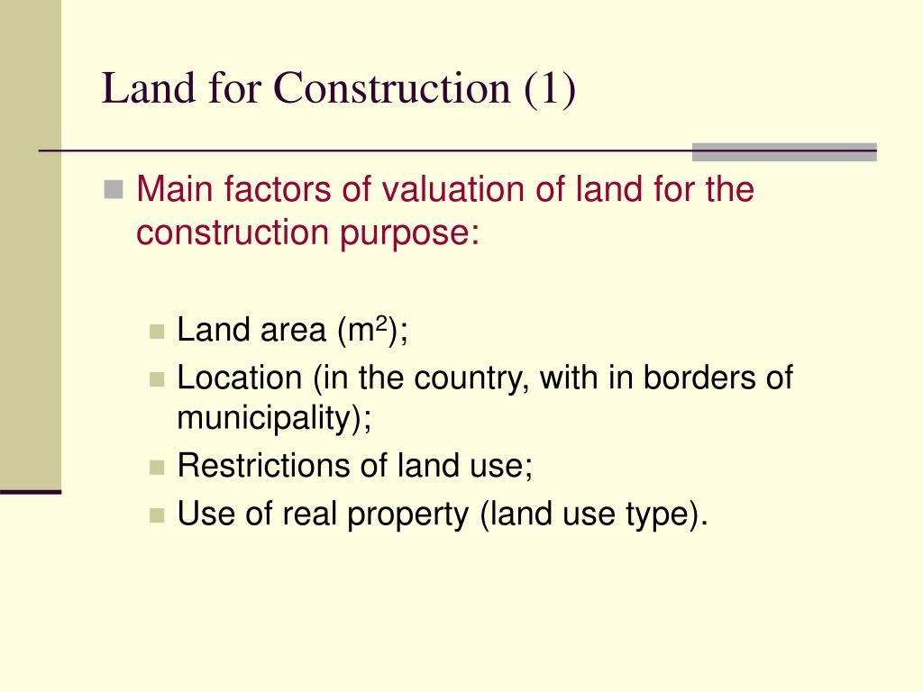 Land for Construction (1)