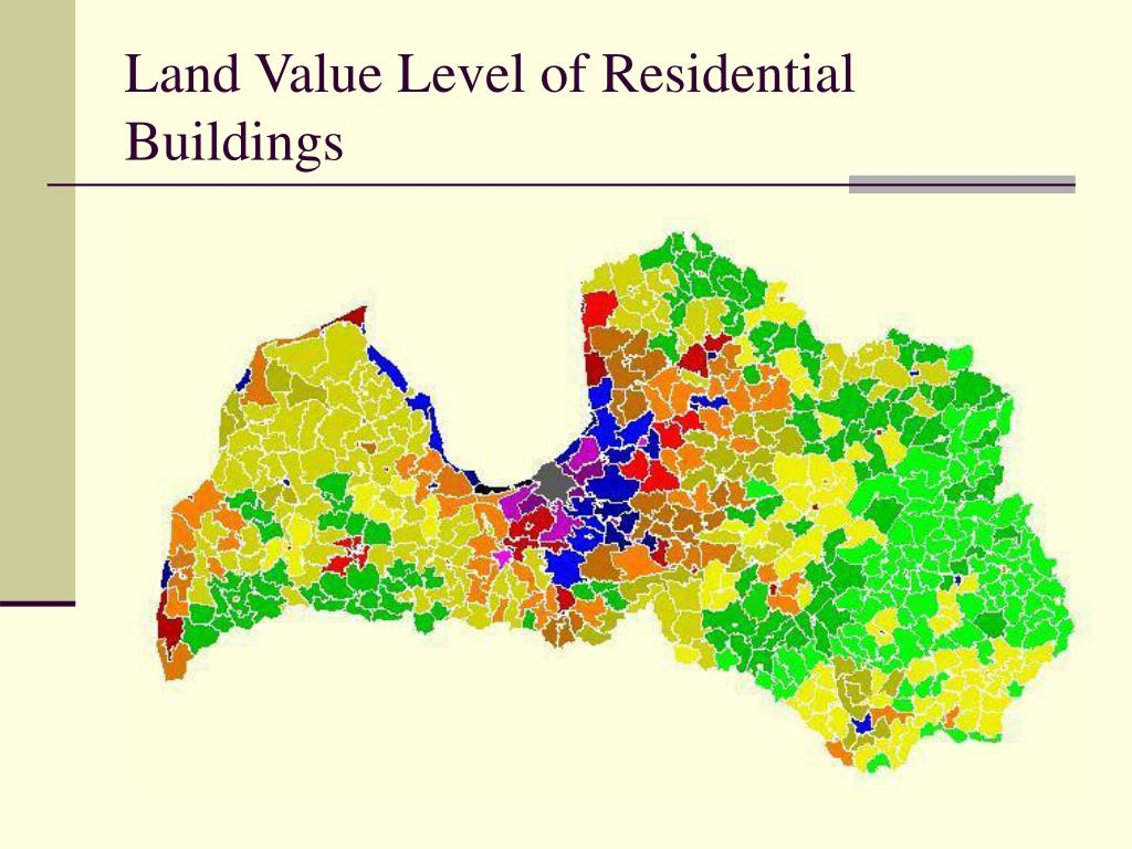 Land Value Level of Residential Buildings