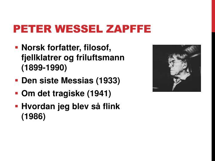 Peter Wessel Zapffe