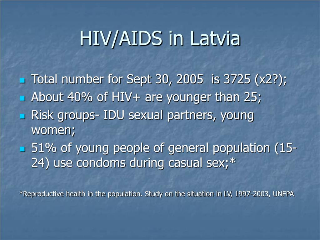HIV/AIDS in Latvia