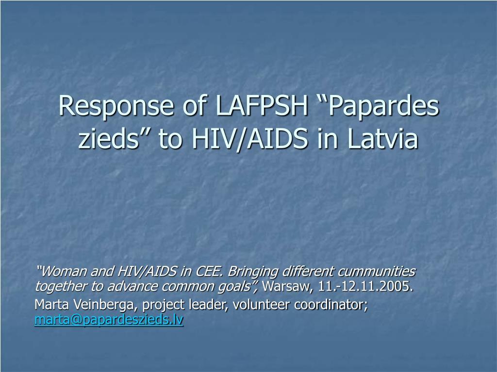 """Response of LAFPSH """""""